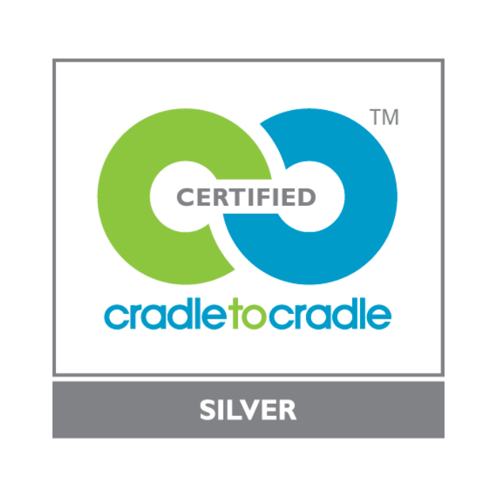 "Logo ""Certified cradle to cradle"" Silver"